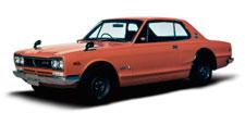 1970- KPGC10 GT-R