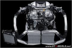 R35GTRエンジン単体