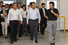 野田首相、ゴーン社長