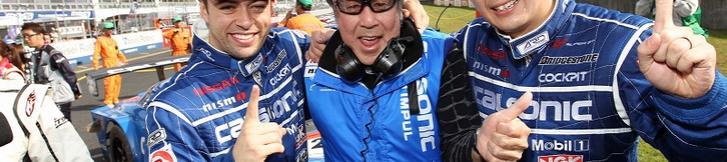 SUPER GT 第1戦(岡山) NISSAN GT-Rが開幕2連勝!