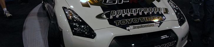 SEMA2008: TOYO Tire PROXES R888 R35 GT-R