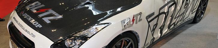 TAS2009:BLITZ R35 GT-R MT