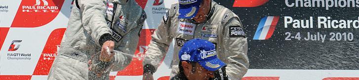 FIA GT プッシュ、プッシュでクルムが2位ゲット!!